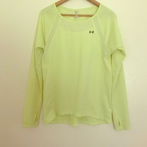 Under Armour | Long Sleeve Shirt | Yellow | XS